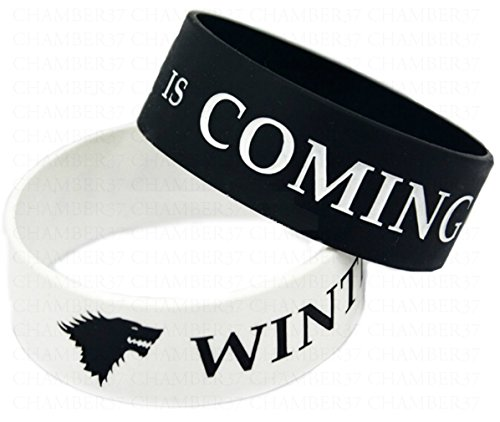 Winter is Coming - Pulsera en Silicona x 2