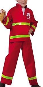 Funny Fashion 403082 - Disfraz Bombero, 2 Teilig