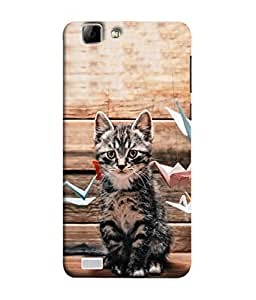 PrintVisa Designer Back Case Cover for Vivo X3S (Heart Warming Veterinarian Decoration Domestic Delectable Christmas Beautiful Exquisite)