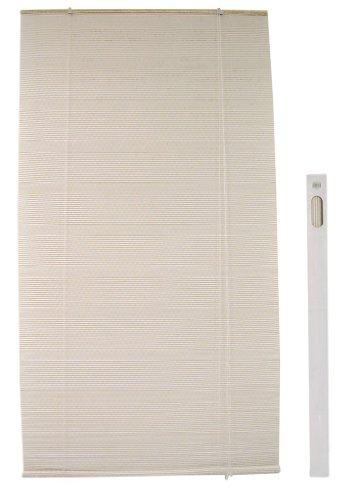 Tenda avvolgibile veneziana in tessuto di juta 120H260 per finestra porta cucina camera salotto casa