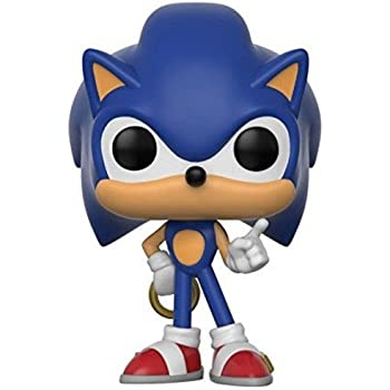 FunKo POP! KEYCHAIN: Games - Sonic w/Ring