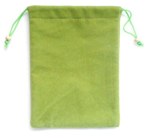 Emartbuy® Tolino Shine 2 HD 6 Zoll eReader Grün Premium-Velours Mikrofaser Selbstreinigende Socken Tasche Tasche (Günstige 6-zoll-kindle-fall)