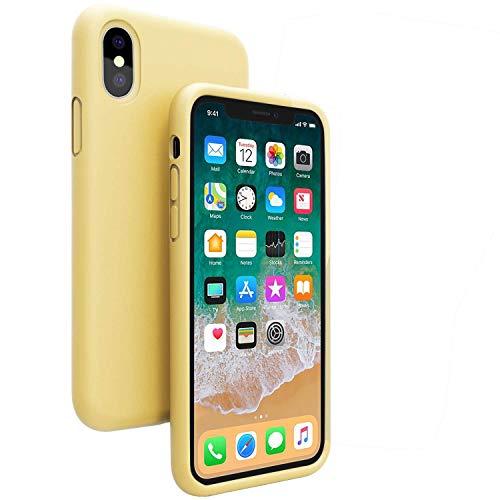 Crystal Skin Tpu Case (LEESITEC iPhone XS Hülle, iPhone X Hülle, durchsichtig, stoßfest, mit weichem TPU Silikon Case Cover [Tropfenschutz] Crystal Gel Case Skin für iPhone XS/X - Transparent)