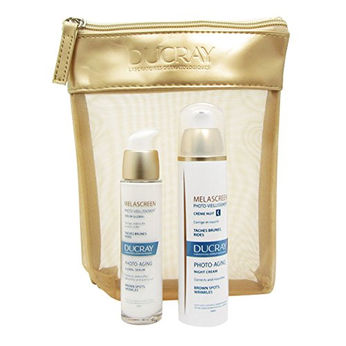 Ducray Melascreen Night Cream + Serum Bag