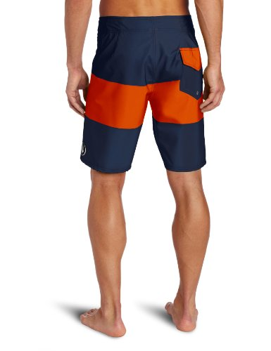 Volcom - - Männer V4S Stripe Boardshorts Navy Red
