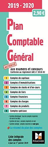 Plan comptable général - PCG - 2019-2020 par  Foucher