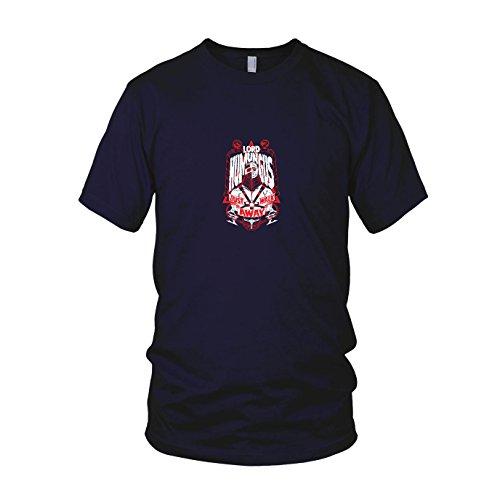 Shirt Mad Max Kostüm - Humungus Walk Away - Herren T-Shirt, Größe: XXL, dunkelblau