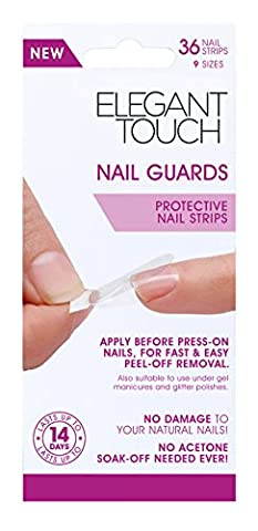 ELEGANT TOUCH Nail Guards, Pack of 36