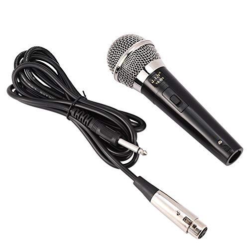 Mikrofon Einfaches, professionelles, kabelgebundenes Handmikrofon mit klarer Stimme für Karaoke-Vokalmusik