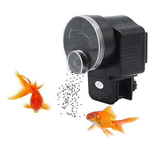 Wetrys - 1 alimentador automático de Peces, alimentador de Peces, Acuario, dispensador de Temporizador de Alimentos, alimentador de Tortugas de Pescado para Fin de Semana y Vacaciones