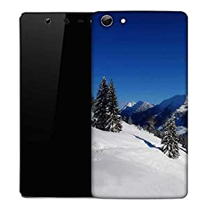 Snoogg Jammu Place Designer Protective Phone Back Case Cover For Micromax Canvas Selfie Q348