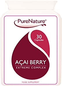 ACAI BERRY EXTREME COMPLEX FAT BURNER WEIGHT LOSS SLIMMING PILLS 1,000mg POTENT WHOLE AMAZON ACAI BERRY