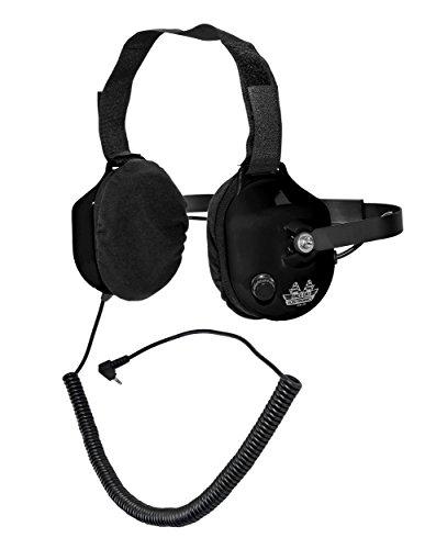 Race Day Electronics geruchsvorbeugende Hinter dem Kopf Racing Scanner Stereo-Headset (rde-059)