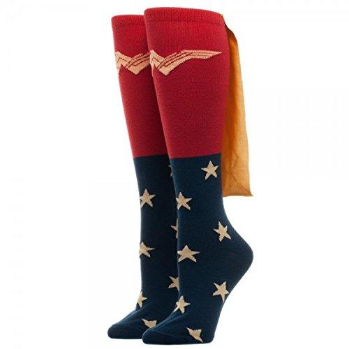 Frage mich offiziell lizenzierte DC Comics, Frau Film Caped Kniestrümpfe Socken