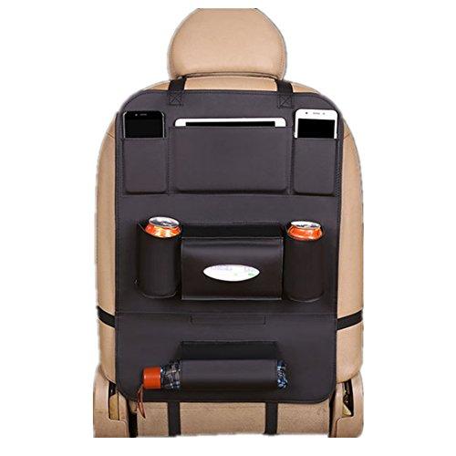 VICTORIE Auto Organizer Rücksitz Organizertaschen Rückenschutz Rückenlehnenschutz Hängen mit Multi Taschen für Tablet Mobiltelefon Spielzeug Snack