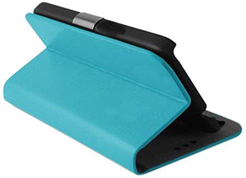 Ksix MFZ5745FU20T - Funda flex TPU para ZTE Blade S6 Plus, color turquesa