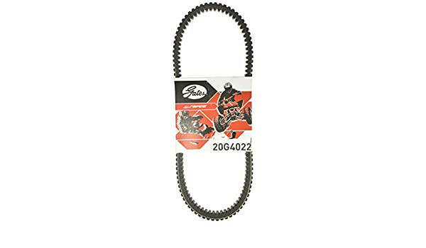 Gates 20G4022 G-Force Recreational Belt