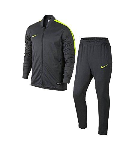 Nike ACADEMY KNT TRACKSUIT 2 - Tuta da ginnastica, Grigio, L, Uomo