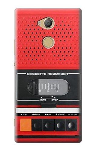 Innovedesire Red Cassette Recorder Graphic Hülle Schutzhülle Taschen für Sony Xperia XA2 Ultra