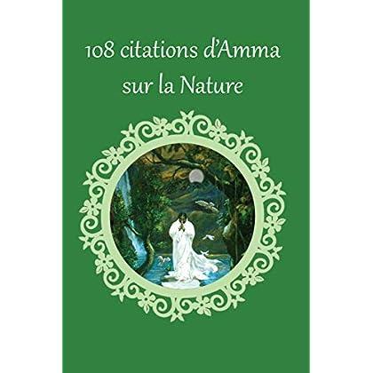 108 citations d'Amma sur la Nature