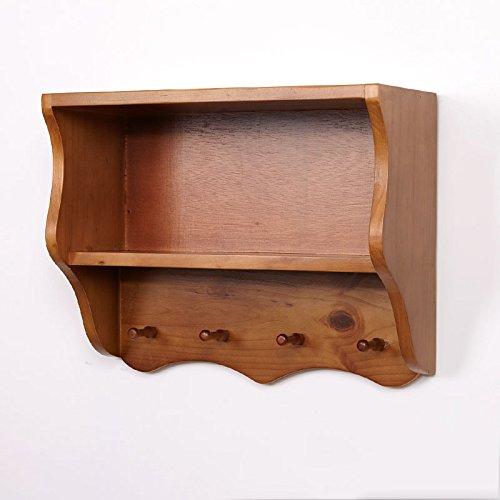 GYP Étagère murale Ensemble de meuble en bois massif Revêtement mural Simple créatif Sur le mur Étagère Décoration de salon acheter ( Couleur : #2 )