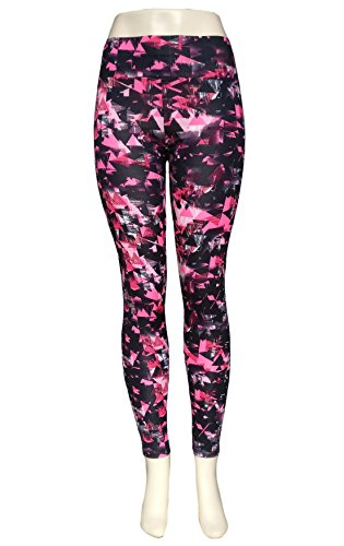 Fashion Womens Yoga Fitness Leggings Gym Stretch Running Pants Multi-color