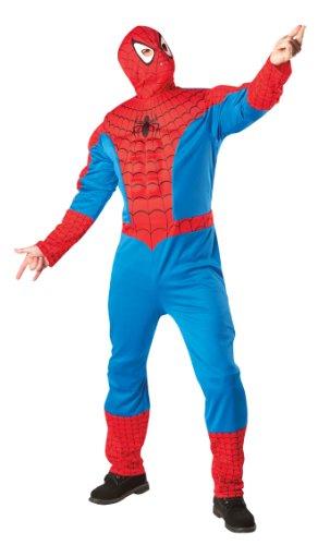 Imagen de rubbies  disfraz de spiderman para hombre, talla única