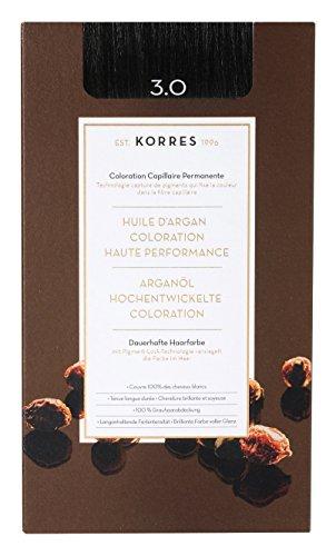 Korres Argan Öl hochentwickelte Coloration dark brown 3.0, 145ml