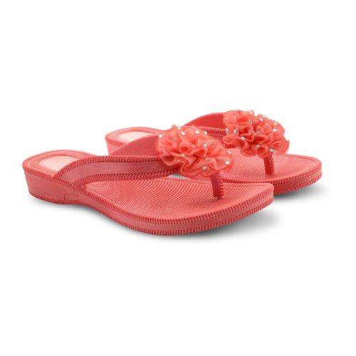 Footwear Sensation, Infradito donna Nero nero Nero (Coral)