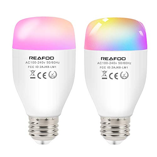 REAFOO Lampadina Smart WiFi Intelligente 9W