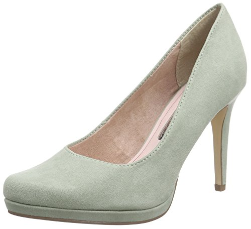 Tamaris 22446, Damen Plateau Pumps, Grün (MINT 768), 41 EU