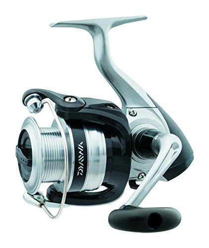Daiwa SF4000-B-CP Strikeforce Test Front Drag Spinning Fishing Reel, 10-14 lb, Silver by Daiwa