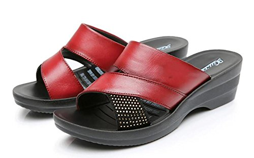 2017 nuovi pattini di cuoio dei pattini di cuoio dei sandali nuovi pendii con i pattini scivolosi di grande formato 2