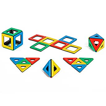 Polydron 50-1000 Magnetic Set (Pack of 32)