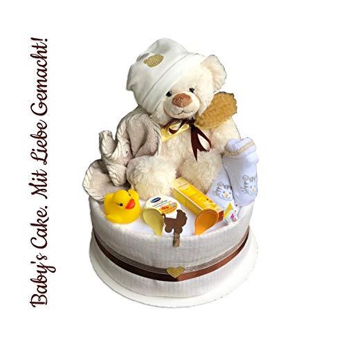 Pañales para tartas Neutral/Diaper Cake > bebés de Cake > Baby regalo/regalo para nacimiento, bautismo...
