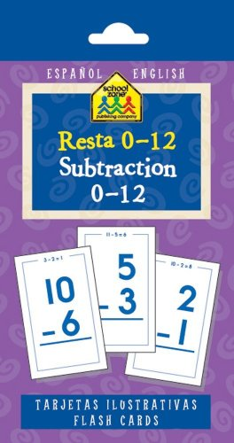 Resta 0 - 12 / Subtraction 0-12