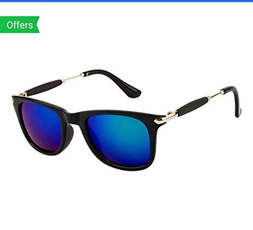 Sunglasses (Gift item) Blue Mercury Wayfarer for Men\'s & Women\'s UV protected - 2448