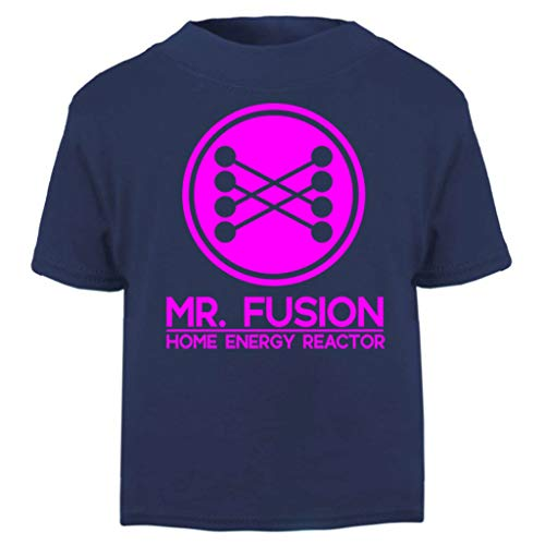 Back to The Future Mr Fusion Home Energy Reactor Baby and Toddler Short Sleeve T-Shirt