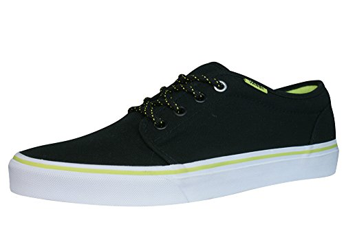 Vans Hommes 106 Vulcanized Lace Up Low chaussure de basket - Noir Black