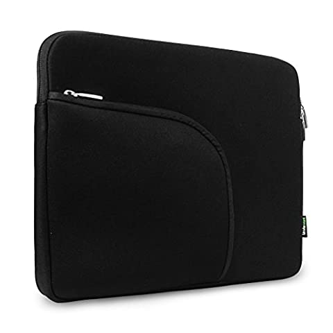 Lavievert Soft Neoprene(Water Resistance) Macbook Sleeve Laptop Case Notebook Bag Macbook Cover with Extra Pocket In Front(Easy to Collect Your Small Things) for 13 inch Macbook Retina Pro,13 inch Macbook Air, 13 inch Macbook Pro and Most Popular 13-13.3 Inch Laptop / Notebook Computer / Ultrabooks –