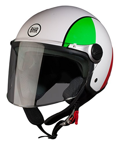 BHR 93815, Casco Moto, color Italia, talla 59/60 L