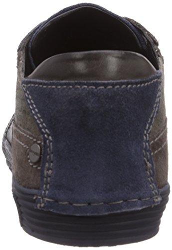 bugatti F5004PR13, Low-Top Sneaker uomo Grigio (Grau (grau / braun 142))