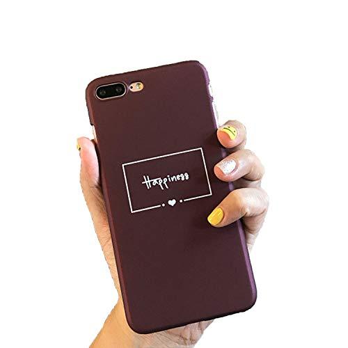 Handyhülle für iPhone 6, 6S, 7, 8 Plus, X 5, 5S, SE, modisch, süßes Cartoon-Herz, ultradünn, Hart-PC, für iPhone 8, T3, für iPhone 7 Plus