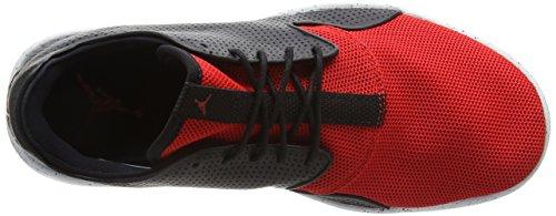 Nike Jordan Eclipse, Baskets Basses Homme, 42 EU Noir - Schwarz (018 BLK/UNVRSTY RD-PR PLTNM-UNVRST)