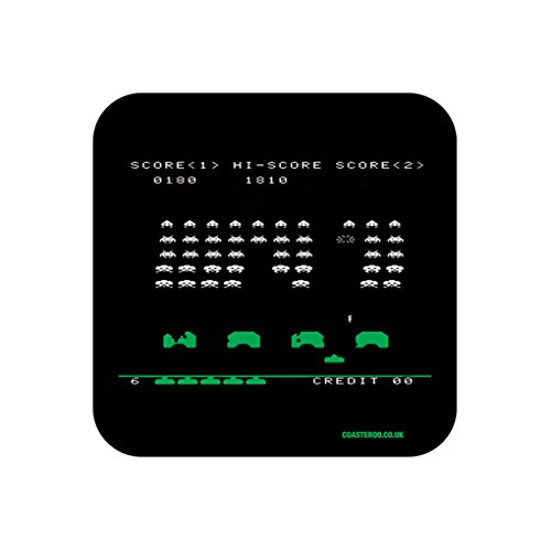 Space Invaders Coaster Gift x 1