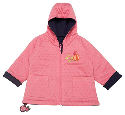 Sigikid Baby - Mädchen Wendejacke, Baby Jacke,per Pack Mehrfarbig (Peacoat 260),80 (Herstellergröße:80)