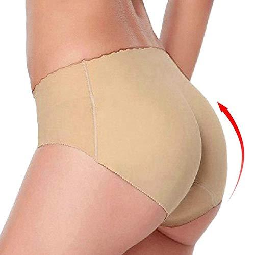 AMURAO Frauen Padded Seamless Butt Lifter Unterwäsche Hüfte Enhancer Control Höschen
