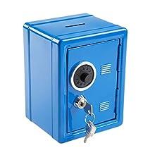 Idena – Spar Tresor, 120 X 105 X 160 mm Blau