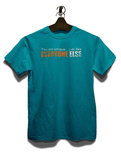 You Are Unique Just Like Everyone Else Vintage T-Shirt Türkis