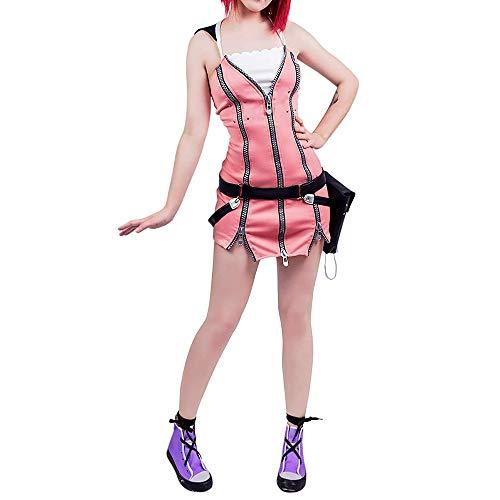 Maßgeschneiderte Anime Kostüm - I TRUE ME US Größe Kairi Frauen Cosplay Kostüm Kingdom Hearts Kairi Frauen Cosplay,M